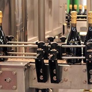 Wine bottles at SIMEI@drinktec