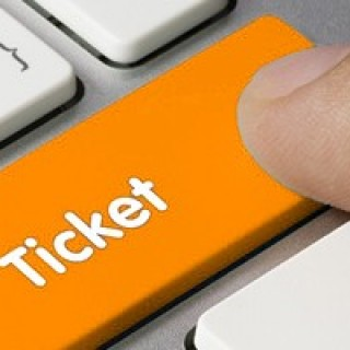 orange ticket button