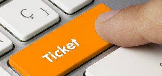 orange ticket button