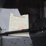 a parking violation ticket