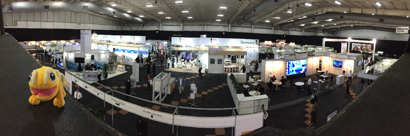 The adventures of Flowy! Day 1 of fdt Africa! | drinktec Blog