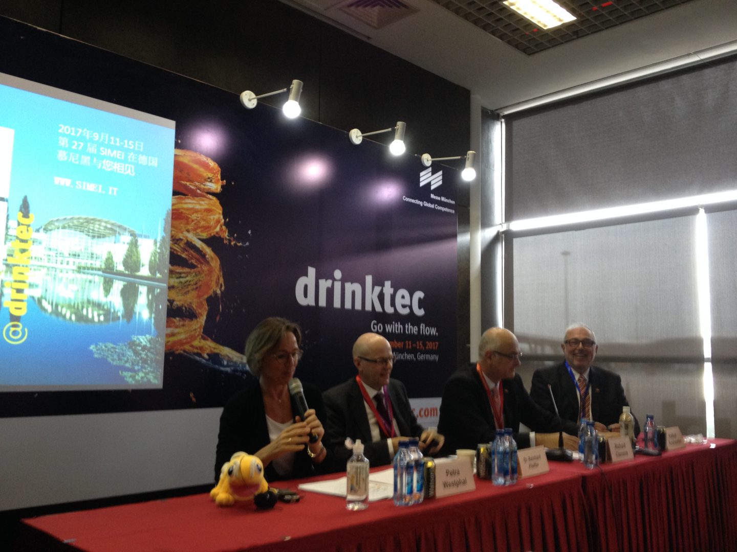 drinktec press conference at CBB