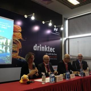drinktec Pressekonferenz
