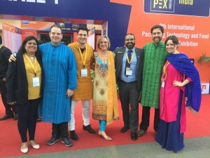 a group picture at the drinktec India