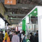 a crowded aisle at the drinktec India
