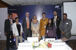 Das drinktec-Team trifft die indischen Kollegen der dti