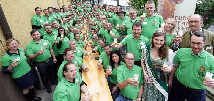 Tasting-Team from European Beer Star 2016