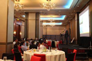 Der Konferenzraum auf den Philippinen