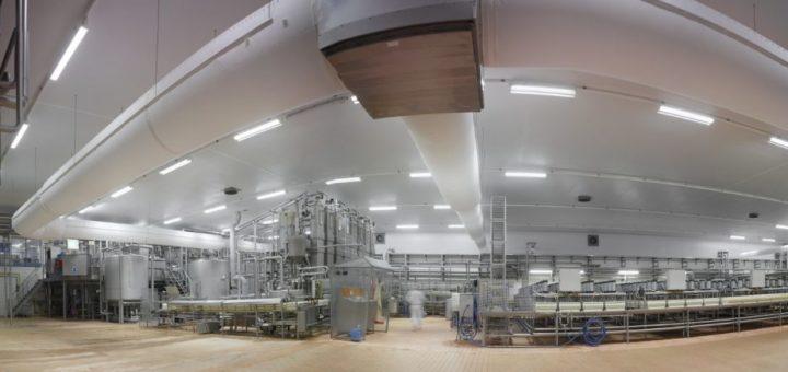 """factory building of """"Deutsches Milchkontor"""" GmbH"""