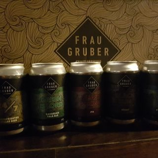 Different kind of beer created by Frau Gruber