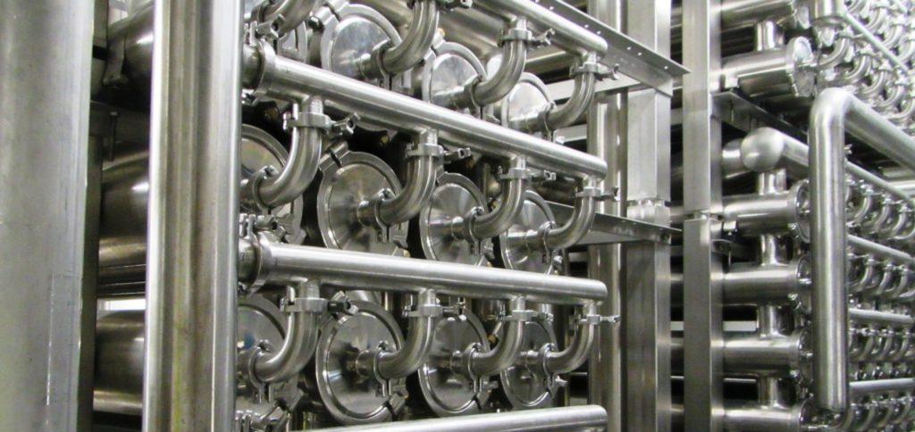 Prozesswässer können genutzt werden: Mittels Membranfiltration kann man daraus Wasser zurückgewinnen.