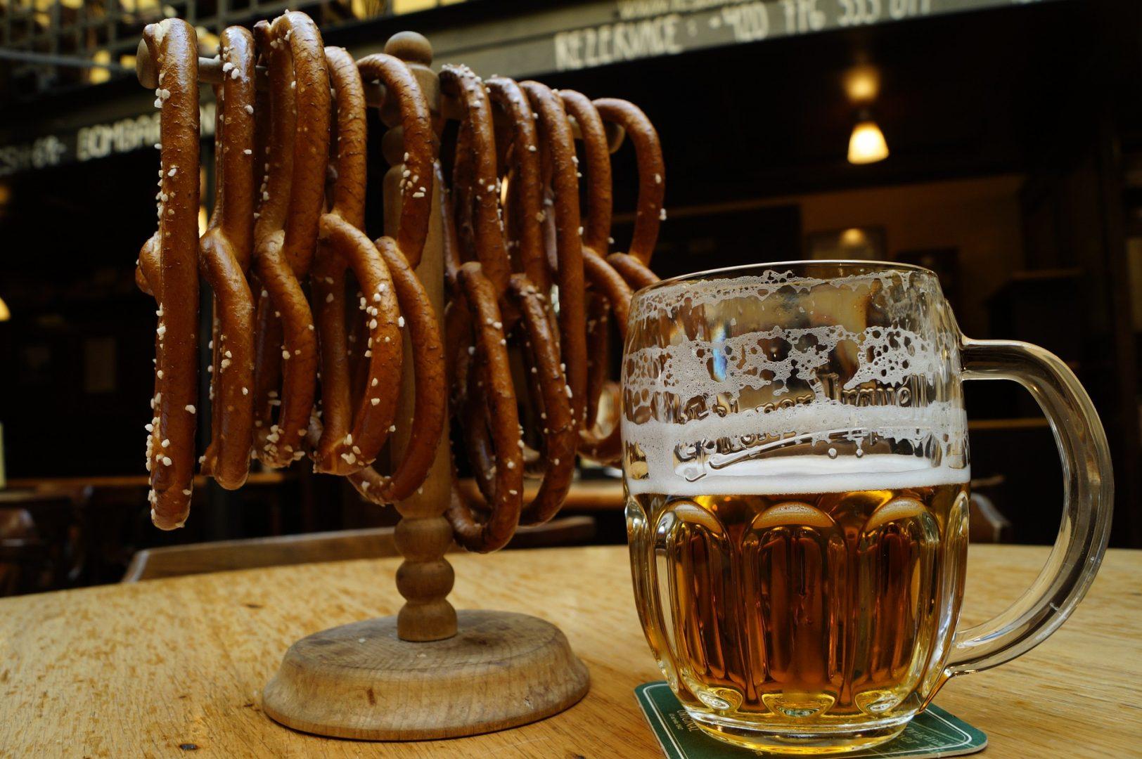 Brezn und ein Bier