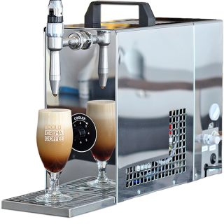 Eine Cold Brew Maschine