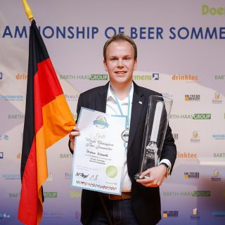 The fifth World Championship title went to beer sommelier Stephan Hilbrandt of Bonn.