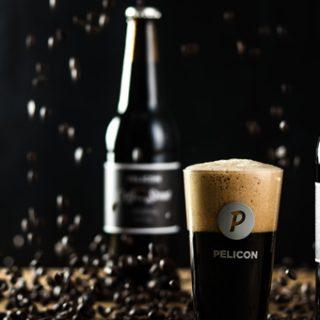 Einer der wilden Sude: Pelicon Coffee Stout