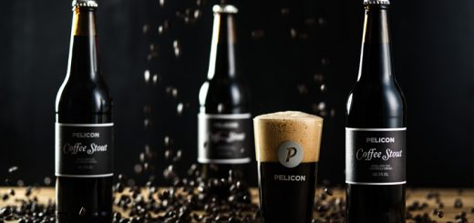 One of the unusual brews: Pelicon Coffee Stout