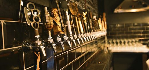 Many taps in a row