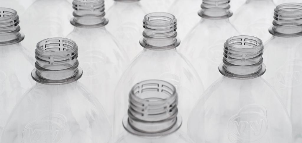Lots of plastic bottles
