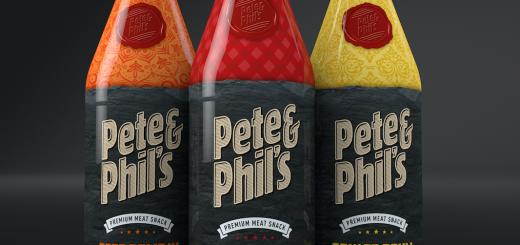 Drei Flaschen Pete & Phil's