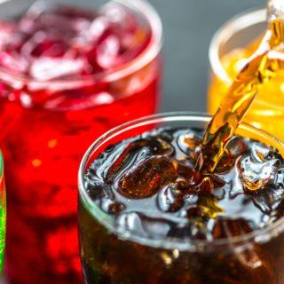 Erfrischungsgetränke ohne Zucker