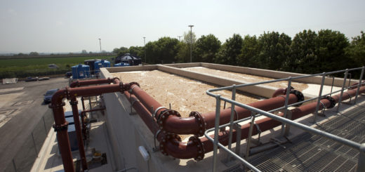 wastewater usage in a facility