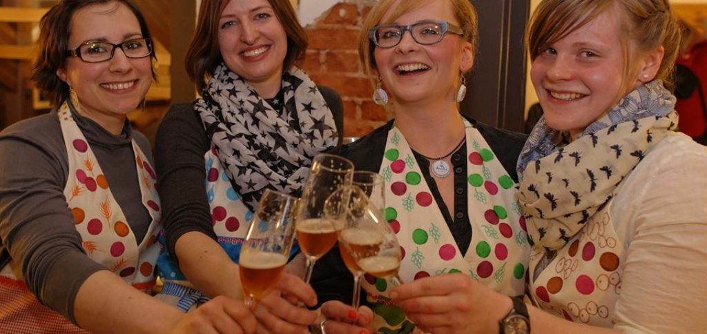 "The successful team ""Holla die Bierfee"", four women from the town of Hof in Upper Franconia, will be presenting their specialty beers at place2beer."