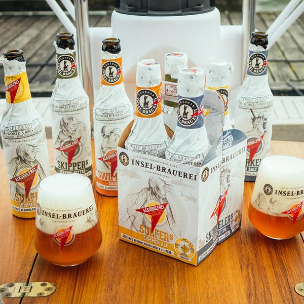 Deutschland hat bei alkoholfreien Bieren und Biermischgetränken die Nase vorn