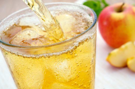 Cider im Glas