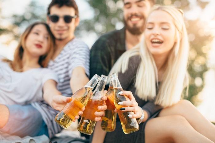 Cider trinken