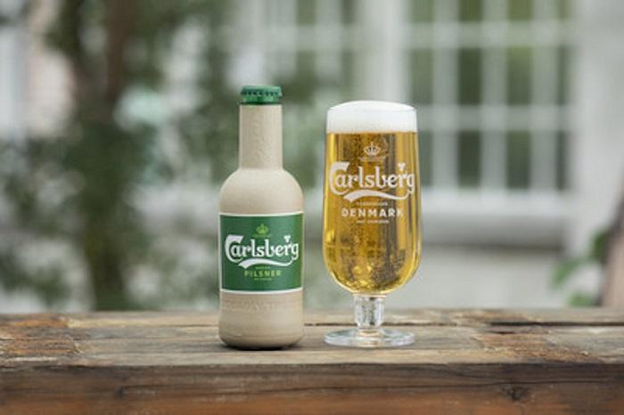Carlsberg entwickelt nachhaltige Verpackung aus Papier
