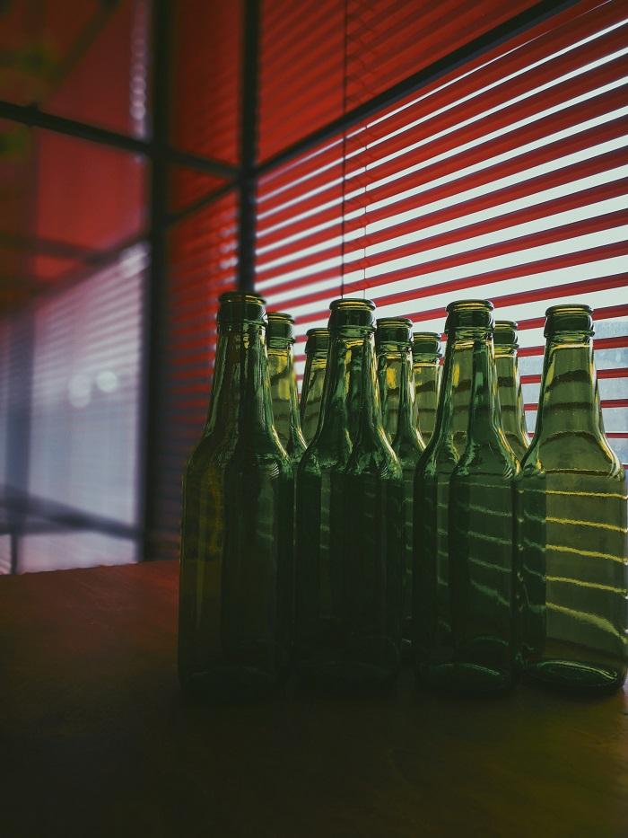 Glasflaschen als nachhaltige Verpackung