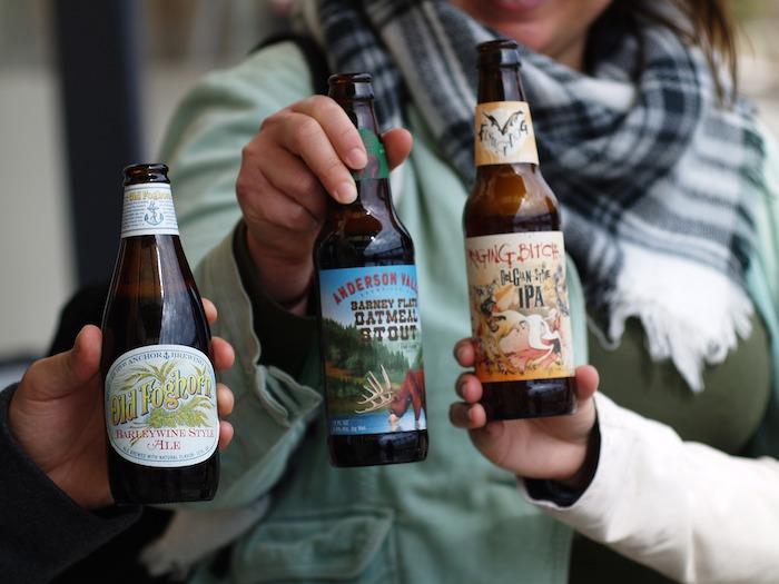 Craft Beer trinken