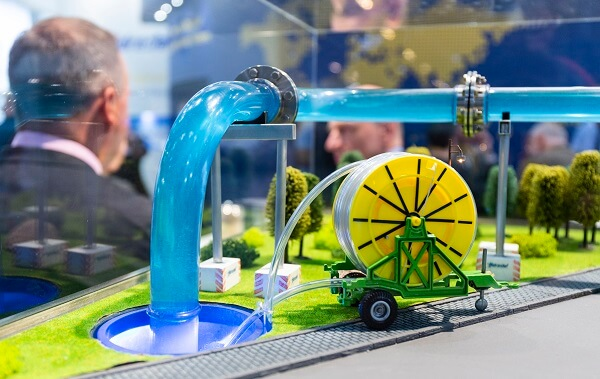 model for water treatment at IFAT