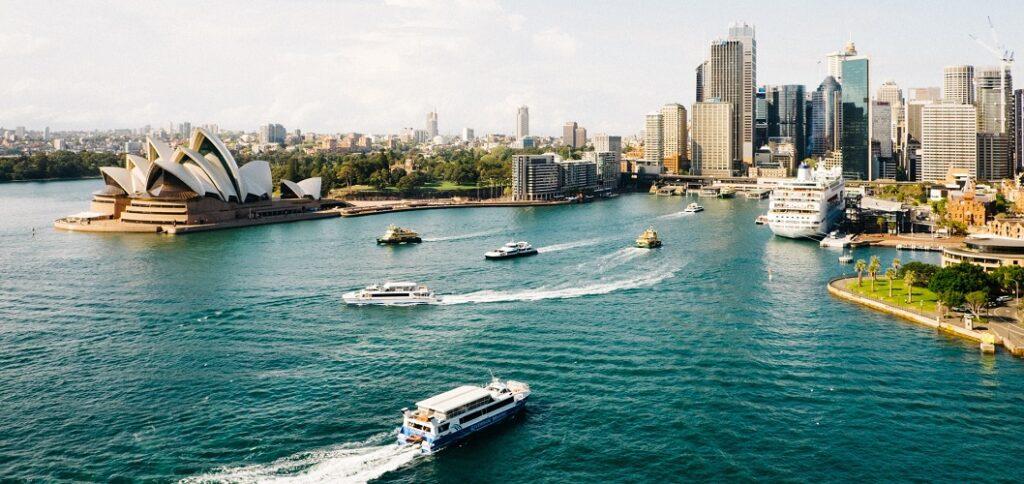 Skyline von Sydney in Australien