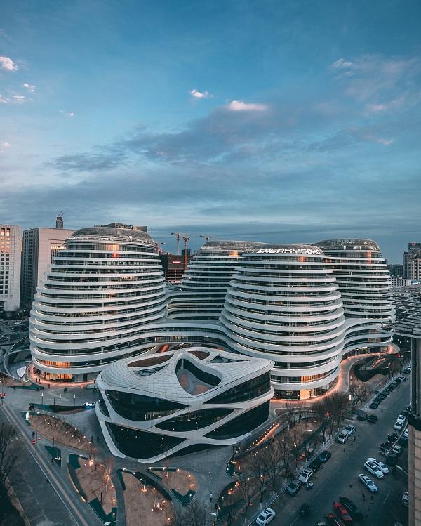 Skyline china beijing capital