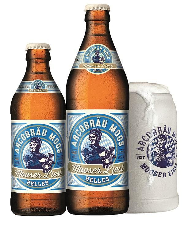 Beer Arcobräu Moos in bottle