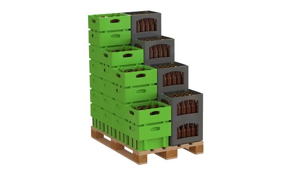 Packdichte bekuplast Flaschenkästen